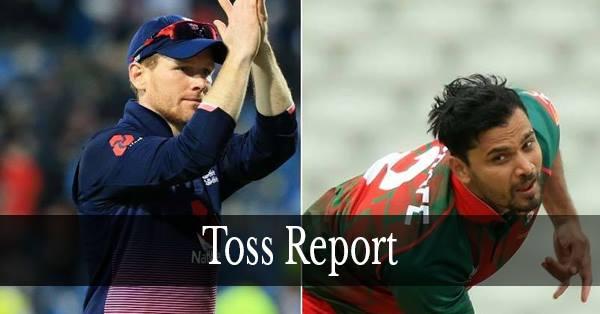 चैंपियंस ट्रॉफी 2017 : टॉस रिपोर्ट : इंग्लैंड ने टॉस जीता, गेंदबाज़ी का लिया फैसला 1
