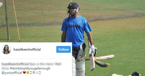 युवराज सिंह के 400वें अंतर्राष्ट्रीय मैच को लेकर हेज़ल कीच ने युवी के लिए कह डाली ये बड़ी बात 18