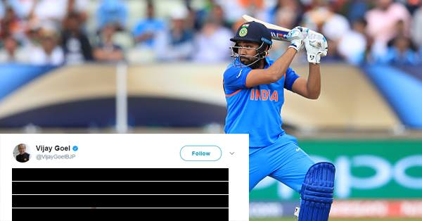 भारतीय खेल मंत्री भी हुए रोहित शर्मा के मुरीद, ट्वीट कर जाहिर अपनी एक बड़ी इच्छा