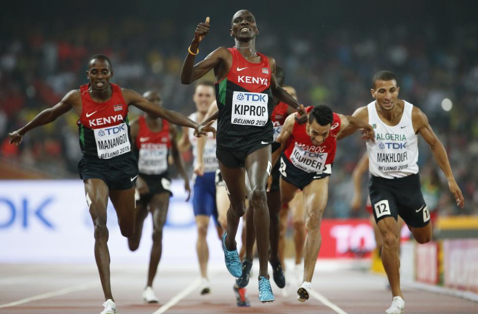 केन्या नेशनल एथलेटिक्स चैम्पियनशिप में तीसरे स्थान पर रहे किपरोप 22