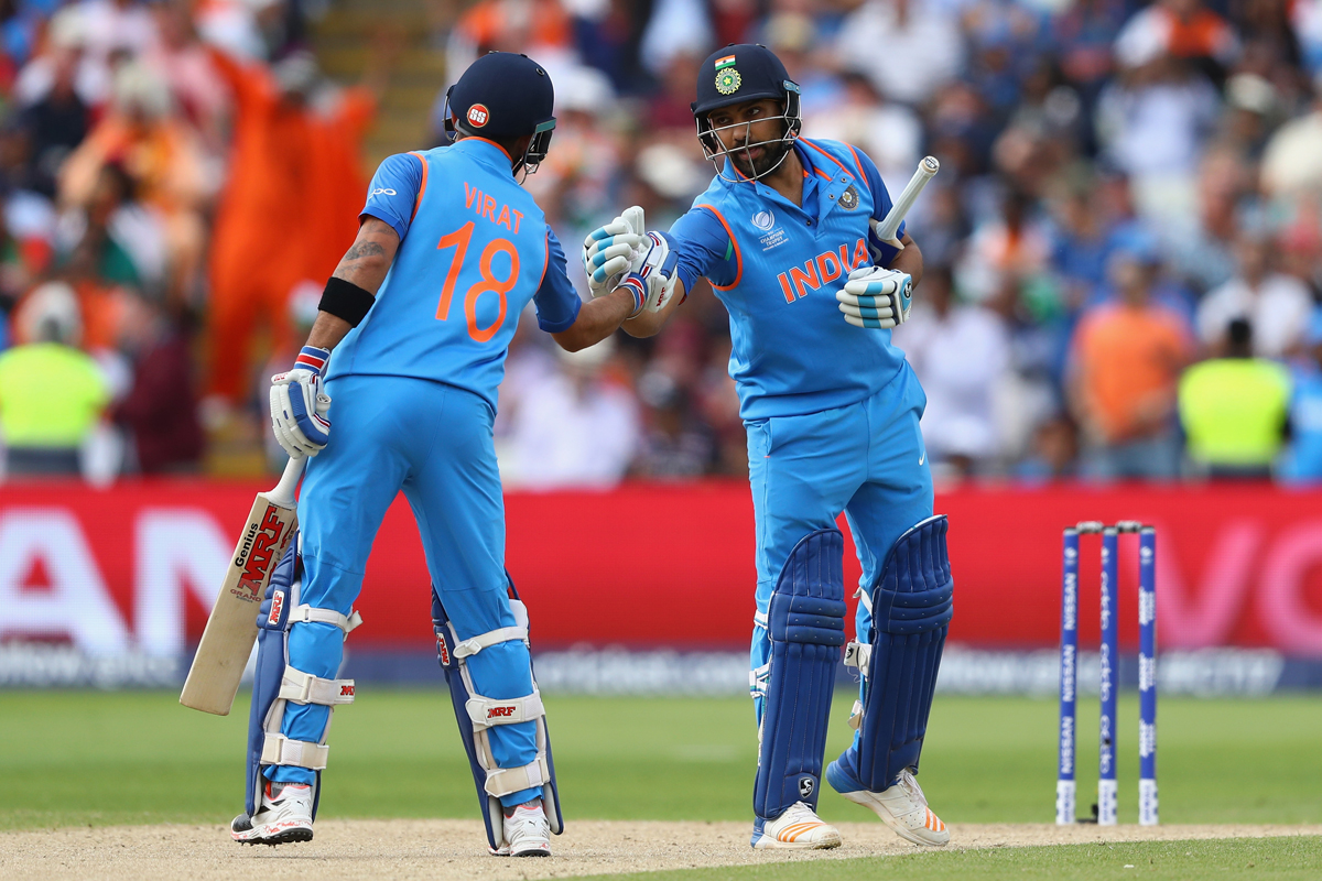 शिखर धवन और विराट कोहली के अलावा ये है वो बल्लेबाज जिनका इस साल चैम्पियन्स ट्राफी में रहा वर्चस्व 32
