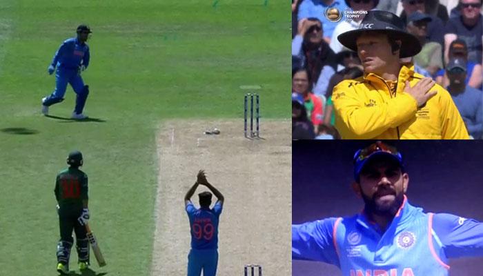वीडियो: सेमी-फाइनल मैच के दौरान धोनी ने किया कुछ ऐसा कि विराट कोहली हुए  गुस्सा