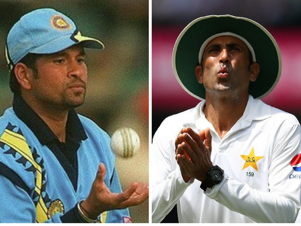 पाकिस्तान के दिग्गज बल्लेबाज यूनिस खान ने लीजेंड सचिन तेंदुलकर पर लगाए सनसनीखेज आरोप 24