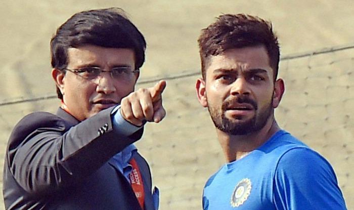 कोच कुंबले और कप्तान कोहली के बीच विवाद सुलझाने के लिए टीम इंडिया के होटल पहुंचे गांगुली