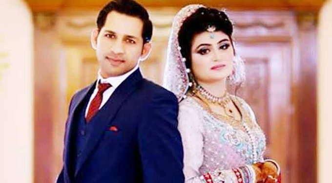 विराट कोहली नहीं बल्कि इस भारतीय खिलाड़ी की बहुत बड़ी फैन हैं सरफराज अहमद की पत्नी सैयदा 1