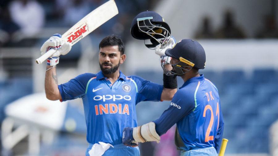 किंग्स्टन वनडे : कोहली का शतक, भारत ने जीता सीरीज, कोहली के सामने नतमस्तक हुए वेस्टइंडीज के खिलाड़ी