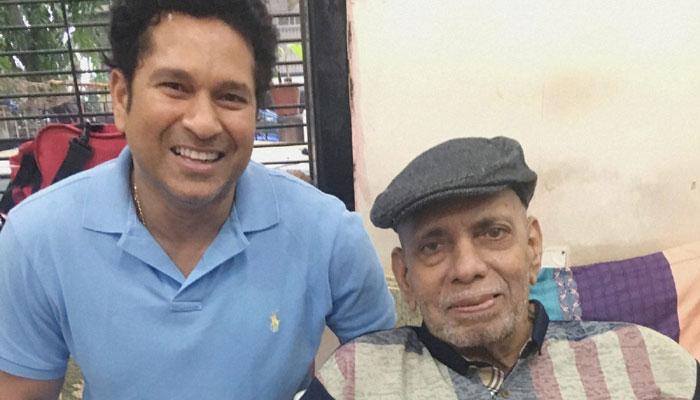 क्रिकेट जगत में शोक की लहर सचिन तेंदुलकर को क्रिकेट का ABCD सिखाने वाले कोच आचरेकर का निधन 2