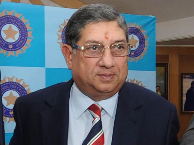 सर्वोच्च अदालत ने श्रीनिवासन को बीसीसीआई एसजीएम में हिस्सा लेने से रोका, जाने कारण 16