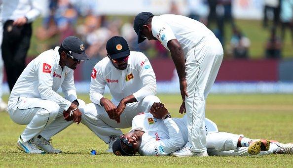 पहले टेस्ट के बीच आई बुरी खबर, स्टार श्रीलंकाई खिलाड़ी चोटिल होकर पुरे सीरीज से हुआ बाहर 56