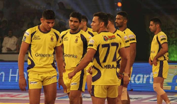 कबड्डी लीग साीजन-5 : 'तेलुगू टाइटंस' का 'पॉवर्ड बाय' प्रायोजक बना टीवीएस