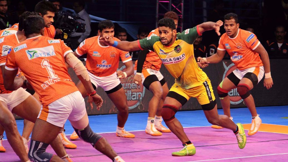 कबड्डी लीग : अपने पहले इंटरजोन मैच में पुणे से हारी पटना