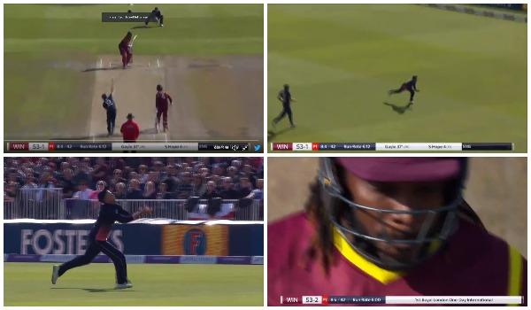 VIDEO: 8.5वें ओवर में जो रूट ने किया कुछ ऐसा कि एकदम फीकी हो गयी क्रिस गेल की एकदिवसीय क्रिकेट में वापसी