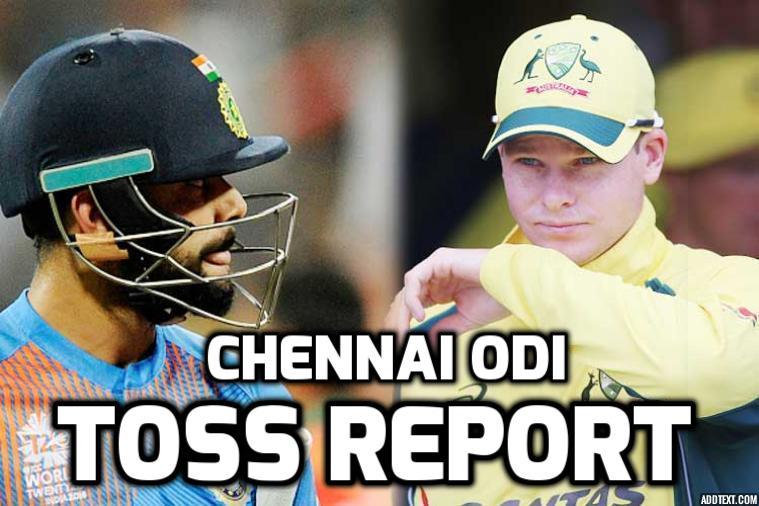 टॉस रिपोर्ट- भारतीय टीम ने टॉस जीतकर पहले बल्लेबाजी करने का निर्णय लिया