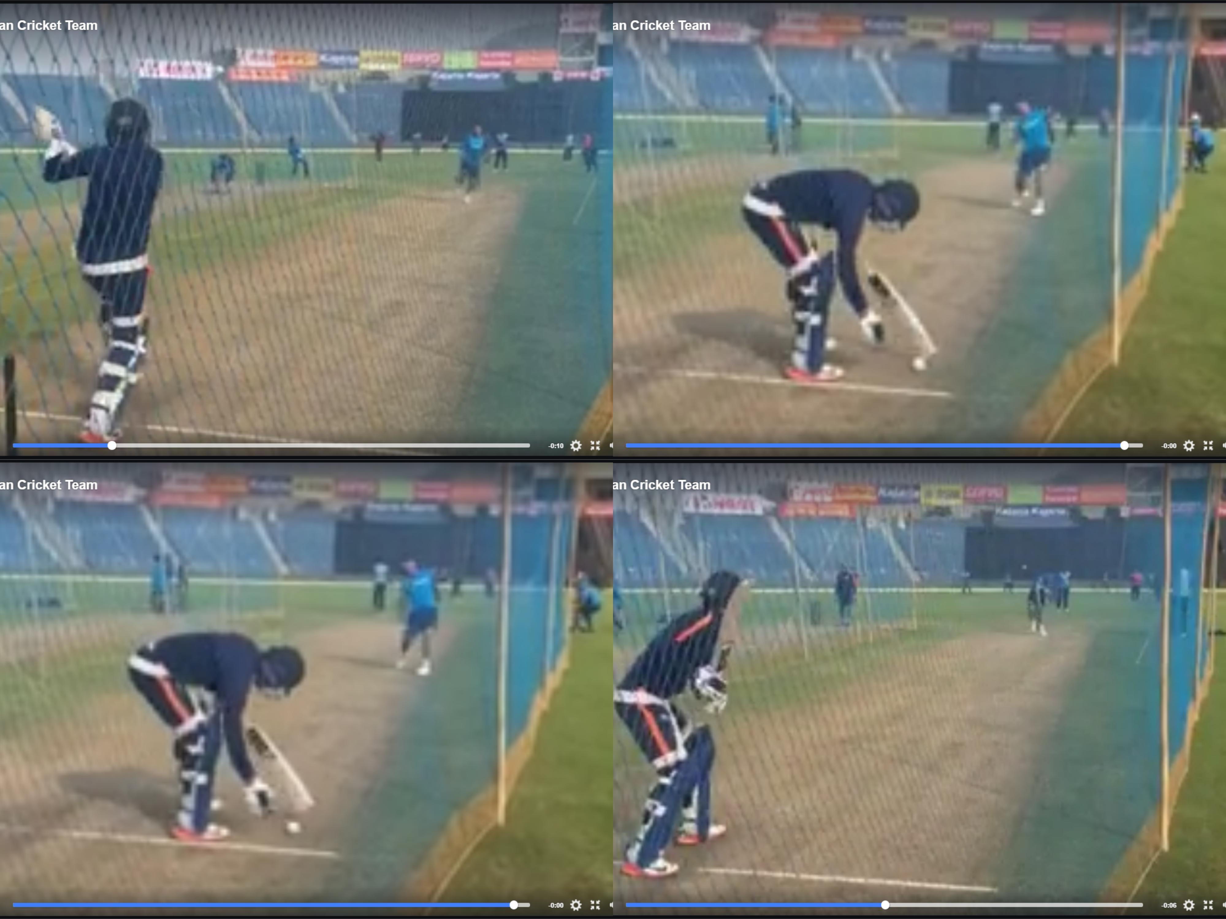 वीडियो: धोनी ने दिखाया गेंदबाजी में भी जौहर, मनीष पाण्डेय को बोल्ड कर अभ्यास के दौरान कुछ इस अंदाज में मनाया जश्न 20