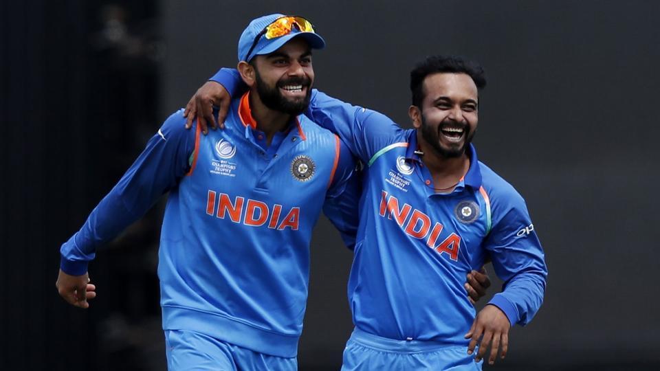 कोलकाता वनडे से पहले केदार जाधव का रोहित शर्मा ने बनाया मजाक, सरेआम कह डाली जाधव को ये बात 22