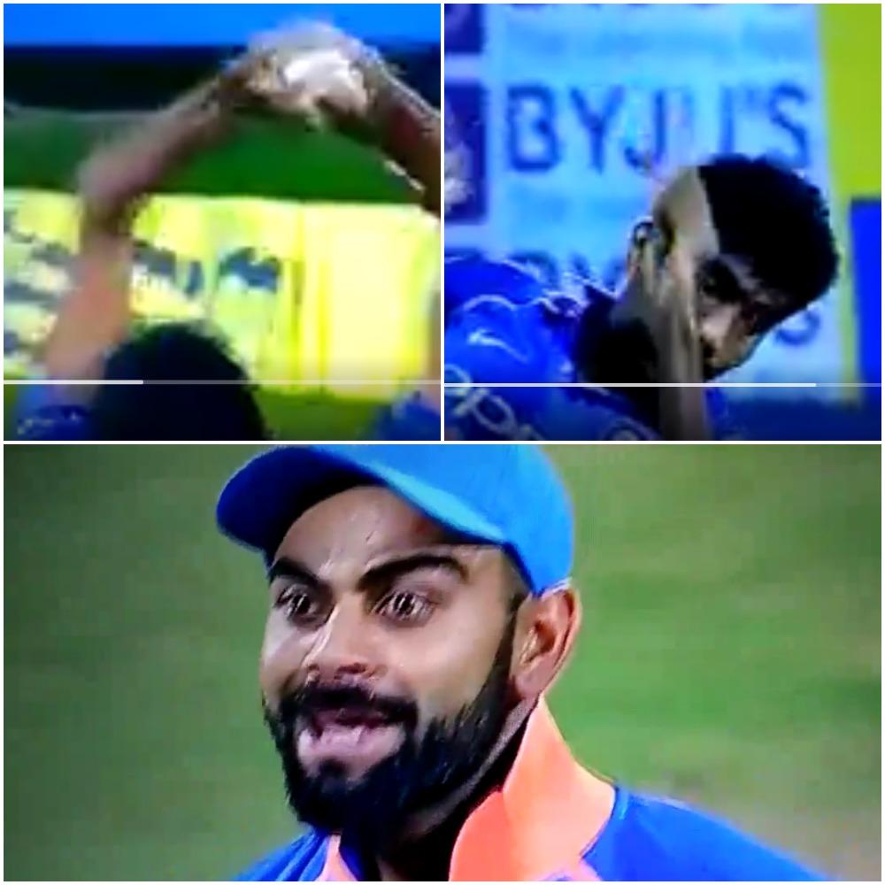 वीडियो : 4.6 ओवर्स में जसप्रीत बुमराह ने पकड़ा ऐसा शानदार कैच, हैरान करने वाला था विराट कोहली का रिएक्शन 26