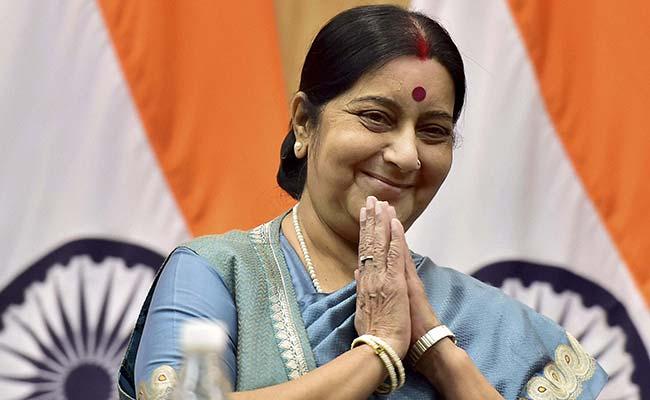 भारत की विदेश मंत्री सुषमा स्वराज ने अफगानिस्तान को टेस्ट नेशन का दर्जा मिलने पर जताई बेहद खुशी 53