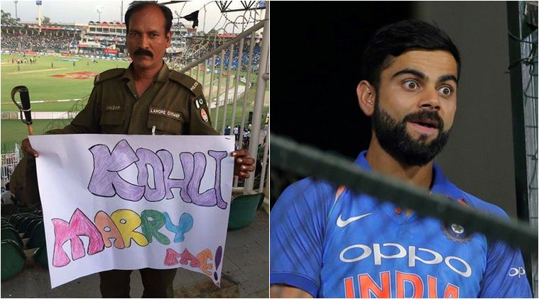 OMG!! भारतीय क्रिकेट के आइकन विराट कोहली को किसी लड़की ने नहीं बल्कि इस पुलिस वाले ने दिया था शादी करने का प्रपोजल, अब तस्वीर हुई वायरल