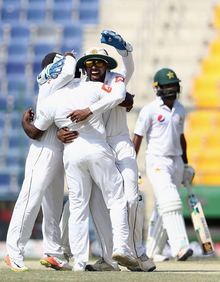 पाकिस्तान के खिलाफ मिली रोमांचक जीत के बाद,  एंजेलो मैथ्यूज ने डिकवेला नहीं बल्कि इस खिलाड़ी को दिया जीत का पूरा श्रेय