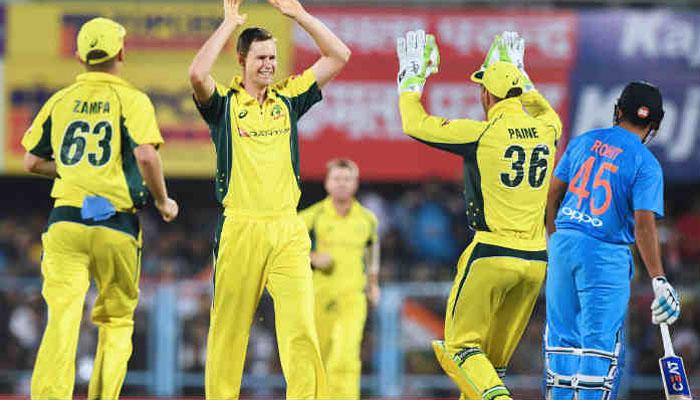 INDvAUS: गुवाहाटी टी-20 : जेसन, हेनरिक्स ने आस्ट्रेलिया को दिलाई जीत, श्रृंखला 1-1 की बराबरी पर 41