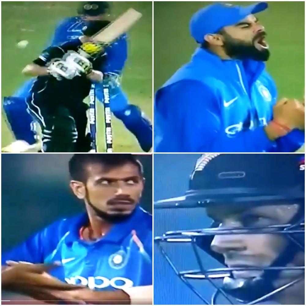 24.2 ओवर में मुनरो पर कोहली ने खोया आपा, तो मुनरो ने कुछ इस तरह दिया भारतीय कप्तान को जवाब