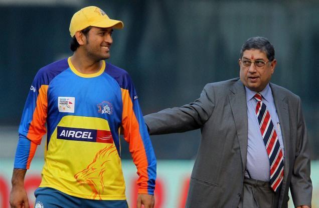 एन श्रीनिवासन ने बताया चेन्नई सुपर किंग्स क्यों है आईपीएल की सबसे सफल टीम 6
