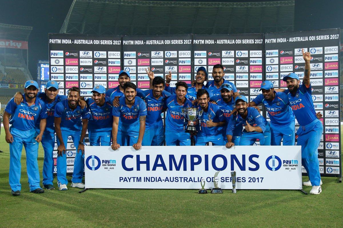 4-1 की ऐतिहासिक जीत के बाद टीम इंडिया ने कुछ इस अंदाज में किया अपने फैन्स का शुक्रिया….देखे किस खिलाड़ी ने क्या कहा