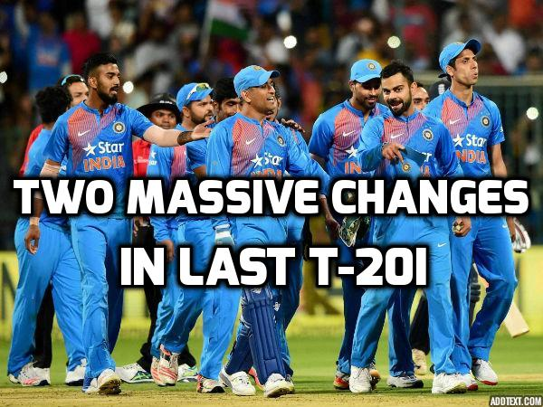 दूसरा टी-20 हारते ही भारतीय टीम में हुए कई बड़े बदलाव, जाने किन्हें दिखाया गया बाहर का रास्ता 46
