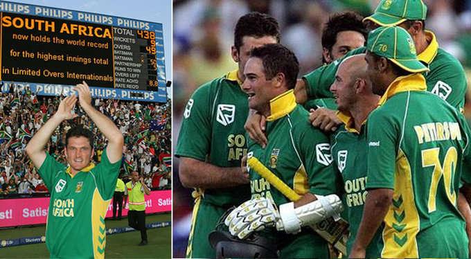 जैक कैलिस ने अफ्रीका को बताया था वो मन्त्र जिसके बाद अफ्रीका ने वनडे में ऑस्ट्रेलिया के खिलाफ खेली थी 435 रनों की रिकॉर्ड पारी