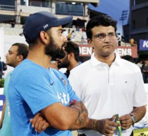 चौतरफा विराट कोहली की कप्तानी की हो रही आलोचना के बीच अब खुद पूर्व कप्तान सौरव गांगुली ने भी बोल दी विराट की कप्तानी पर ये बात