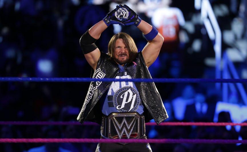 रेस्लमेनिया में WWE चैम्पियन के रूप में होगी एजे स्टाइल की एंट्री लेकिन उससे पहले भावुक हुए स्टाइल ने कही ये बात