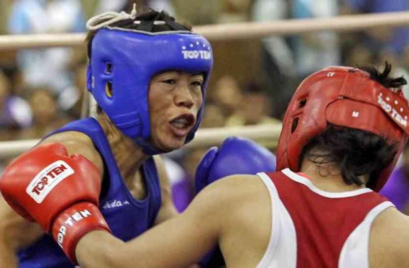 एशियाई मुक्केबाजी चैम्पियनशिप के फाइनल में मैरी कॉम, सोनिया