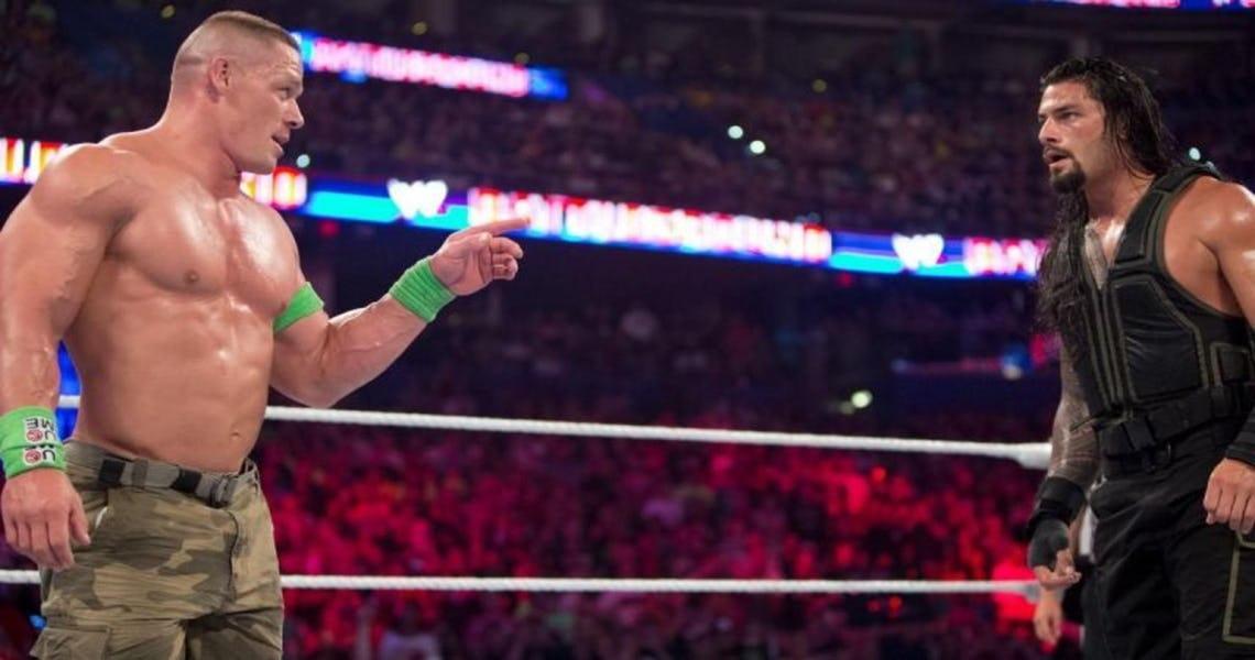 WWE NEWS: रोमन रेन्स ने किया खुलासा आखिर क्यों जॉन सीना को हराना अंडरटेकर को हराने से मुश्किल काम 53
