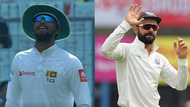 टॉस के दौरान श्रीलंका के कप्तान दिनेश चांडिमल ने बना दिया भारतीय टीम विराट कोहली का मजाक
