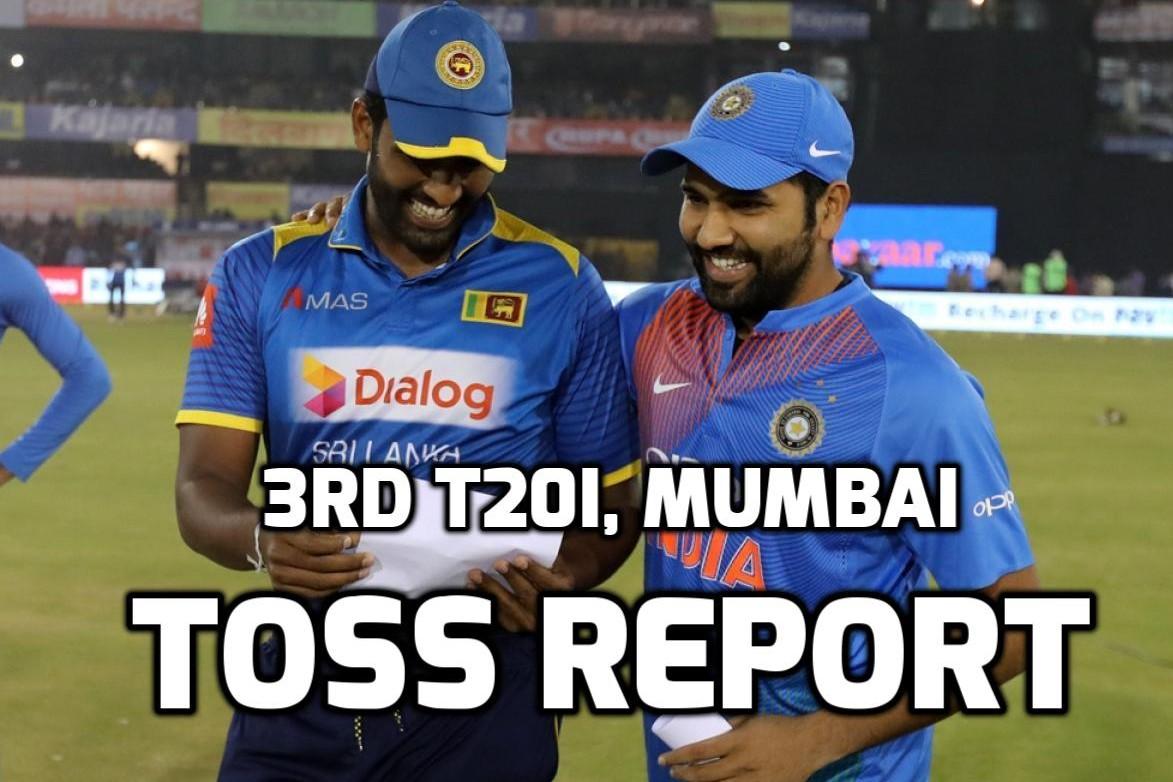 INDvSL: भारत ने जीता टॉस पहले गेंदबाजी करने का फैसला, पहली बार मिला इस युवा खिलाड़ी को टीम में जगह 14