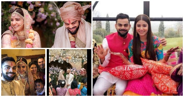 सामने आई #Virushka की शादी की तमाम वीडियोज दूल्हे बने विराट ने कुछ इस अंदाज में की अनुष्का के साथ शरारत