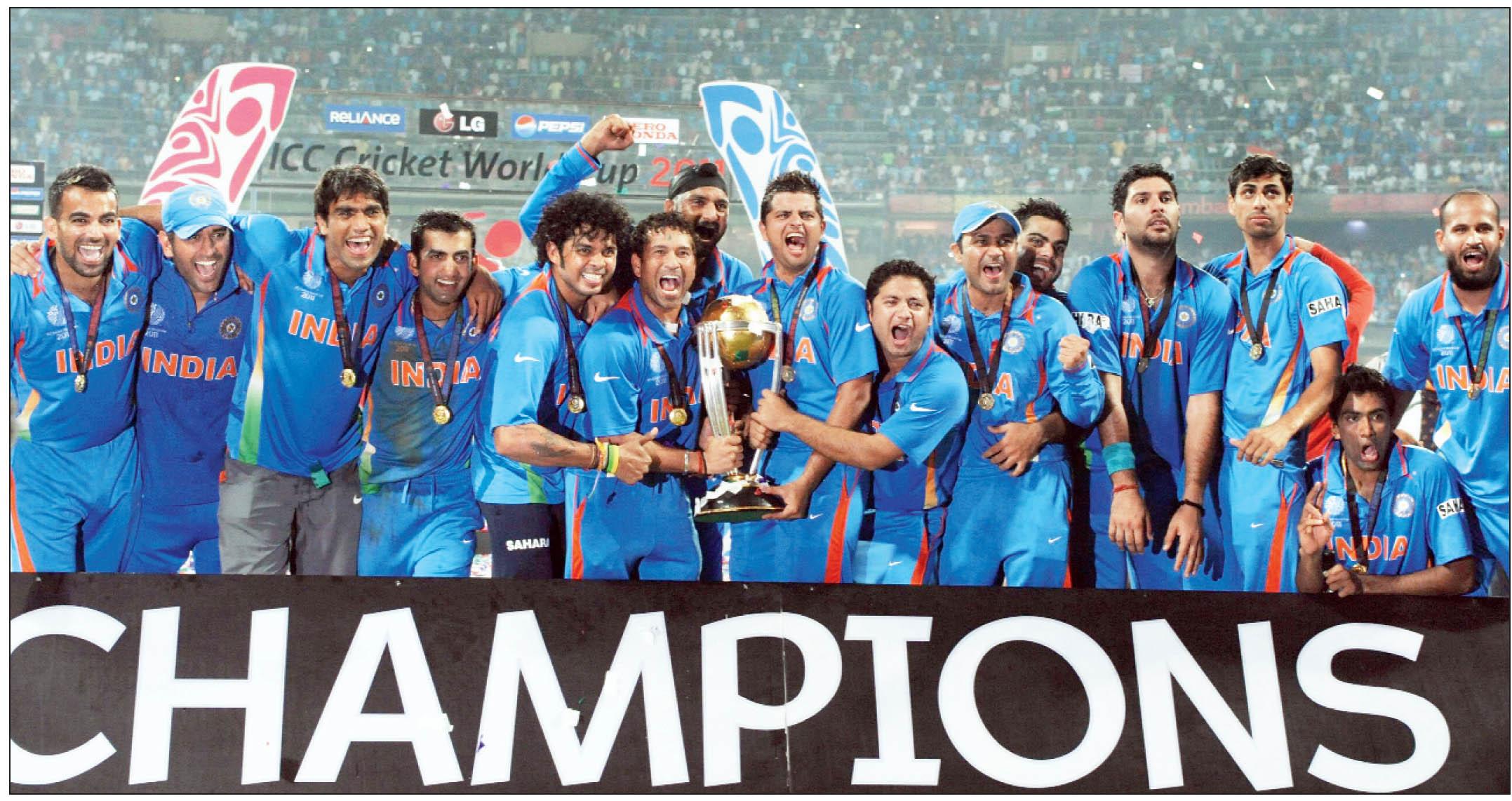 बड़ी खबर: आईसीसी विश्वकप के साथ भारत को मिली चैम्पियन्स ट्राफी की मेजबानी, इस साल खेला जायेगा ये दोनों टूर्नामेंट 33