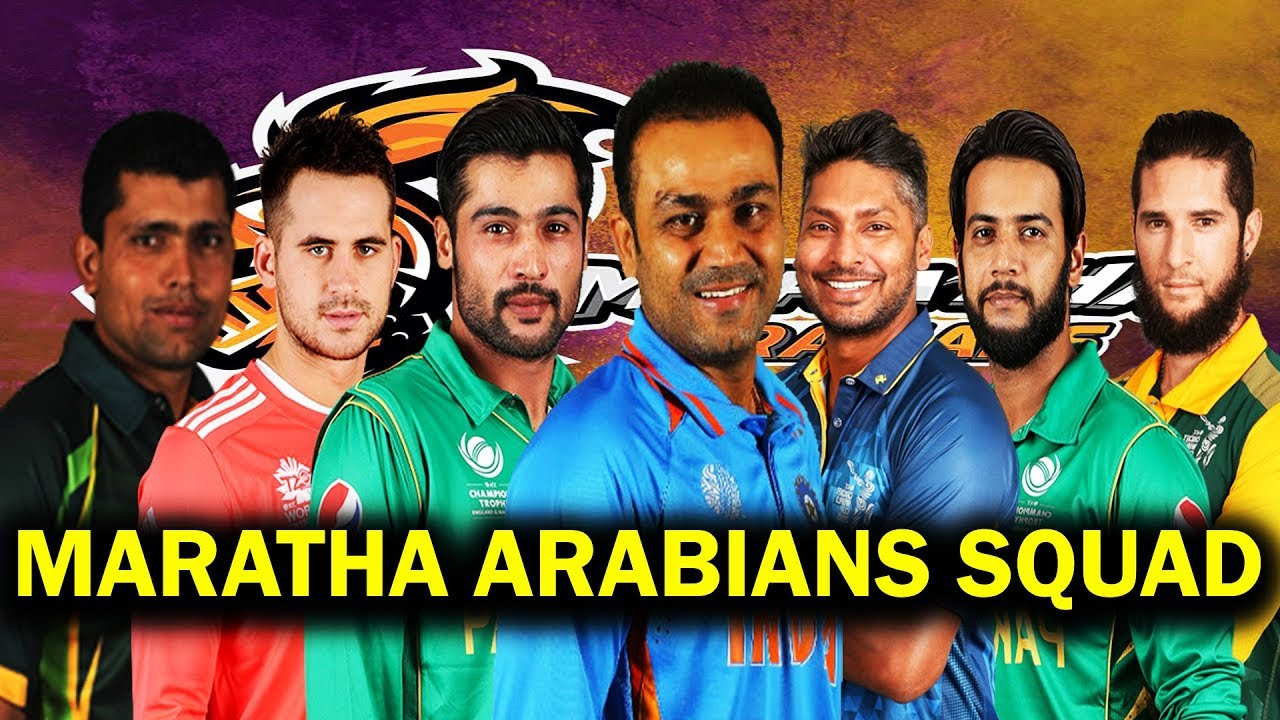 टी10 टूर्नामेंट : सहवाग की टीम मराठा अरेबियंस ने पंजाबी लैजेंड्स को हरा सेमीफाइनल में बनाई अपनी जगह 37