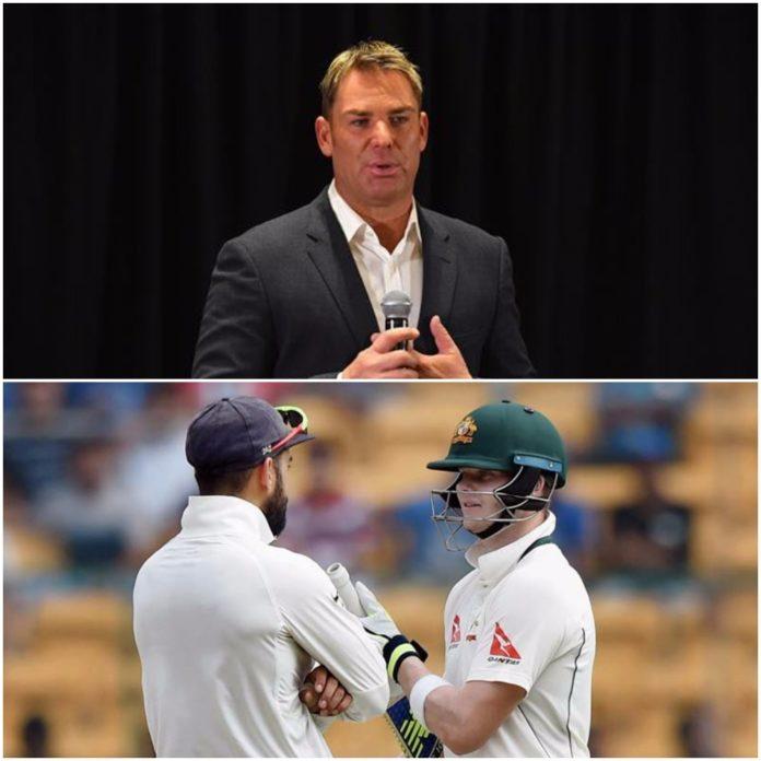 शेन वार्न ने स्मिथ और कोहली की तुलना करते हुए इस दिग्गज को बताया टेस्ट क्रिकेट का सर्वश्रेष्ठ बल्लेबाज