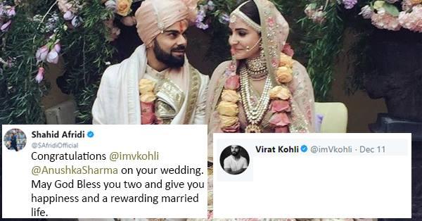 विराट कोहली को शाहिद अफरीदी ने दी थी इस अंदाज में शादी की बधाई, अब विराट ने दिया भावुक कर देने वाला जवाब