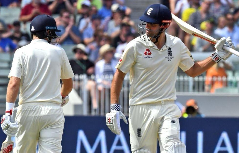 मेलबर्न टेस्ट : कुक की नाबाद शतकीय पारी से इंग्लैंड मजबूत
