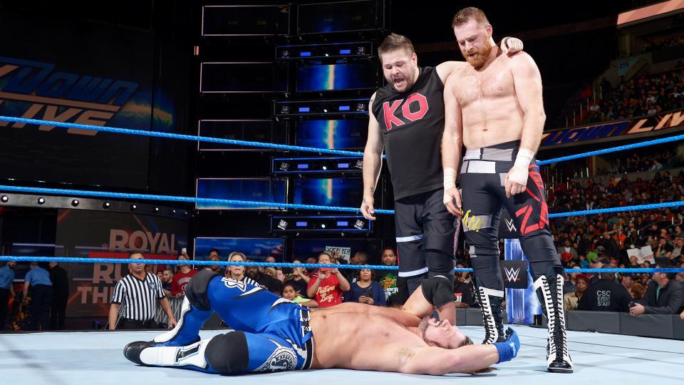WWE SMACKDOWN रिजल्ट्स: 24 जनवरी 2018