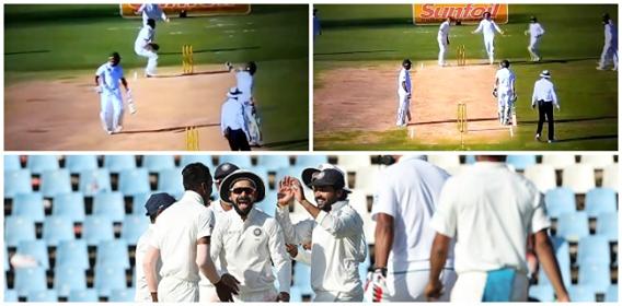 VIDEO: 83वें ओवर में हुआ कुछ ऐसा की मेहमान टीम के बल्लेबाजो का मजाक उड़ाने से नहीं चुके विराट कोहली,आपस में ही भीड़ गये साउथ अफ़्रीकी बल्लेबाज