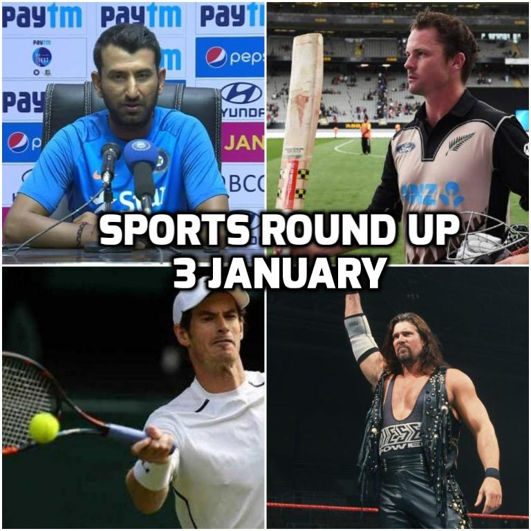स्पोर्ट्स राउंड अप: एक नजर में पढ़े 3 जनवरी 2018 की खेल जगत से जुड़ी हर एक बड़ी खबर 154