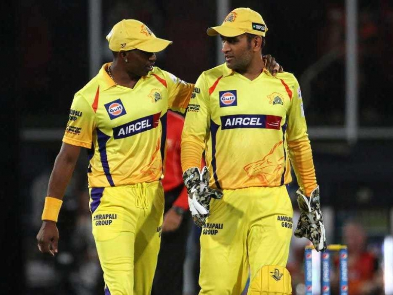 IPL 2018: आईपीएल के ऑक्शन से पहले ड्वेन ब्रावो ने बांधे महेंद्र सिंह धोनी की तारीफों के पुल, लेकिन इस टीम से खेलना चाहते है इस साल आईपीएल 78