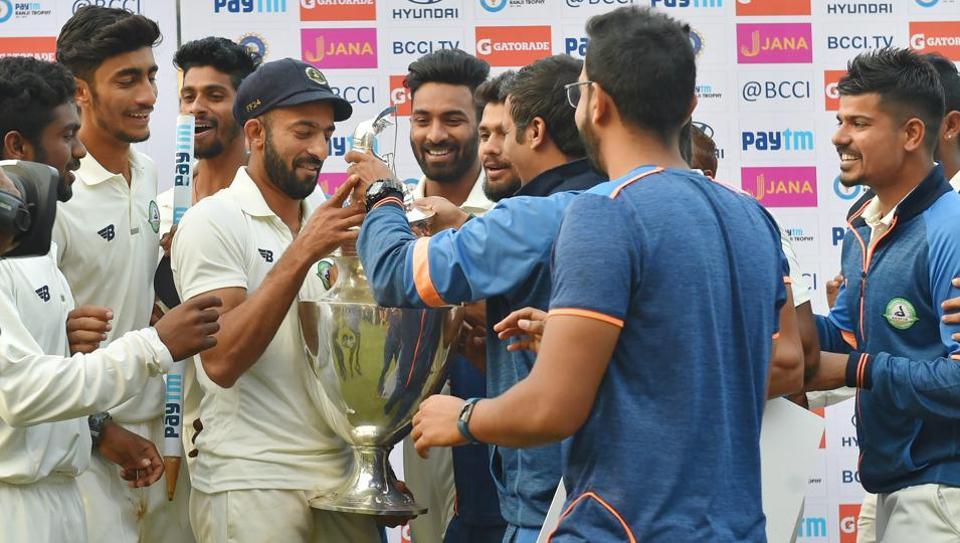 रणजी ट्रॉफी का पहला खिताब जीतने के बाद विदर्भ के कप्तान फैज फजल ने दिया भावुक बयान, भारत के लिए खेलना नहीं इसको बताया अपनी सबसे बड़ी उपलब्धि