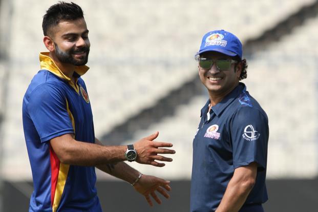विराट कोहली के आईसीसी के सर्वश्रेष्ठ क्रिकेटर चुने जाने के बाद सचिन तेंदुलकर ने भेजा विराट को दिल छु जाने वाला संदेश 12