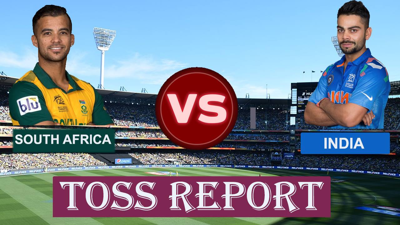 SAvIND: 2nd T20I: दक्षिण अफ्रीका ने टॉस जीता पहले गेंदबाजी करने का फैसला किया 71