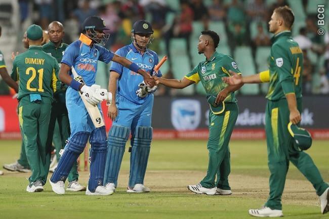 बड़ी खबर: भारत और साउथ अफ्रीका के बीच होने वाले दुसरे वनडे के समय में हुआ बदलाव, इस चैनल पर और इस समय फ्री दिखाया जायेगा ये मैच 46