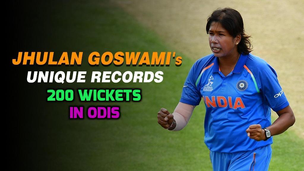 वनडे में 200 विकेट लेने वाली पहली गेंदबाज बनीं झूलन 67